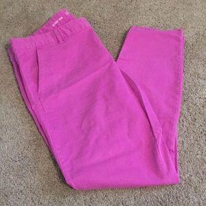 Skinny mini khakis